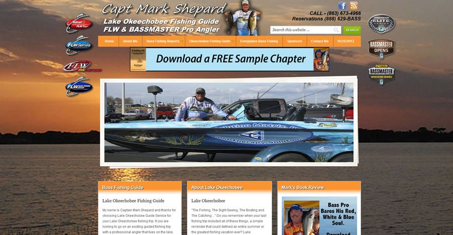 Lake Okeechobee Guide Website