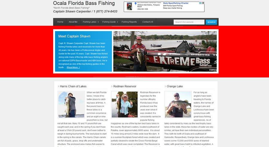 Ocala Bass Fishing Website