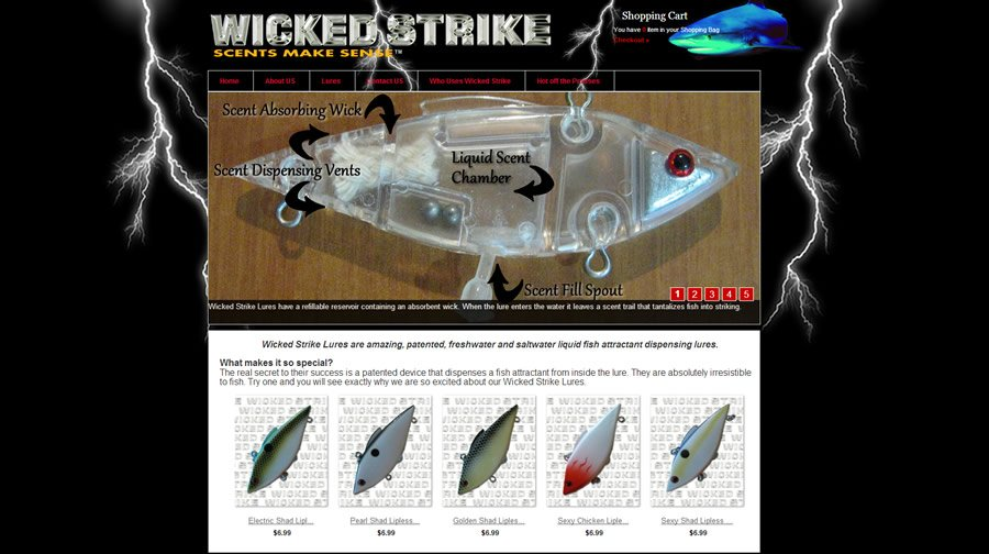 Wicked Strike Lures