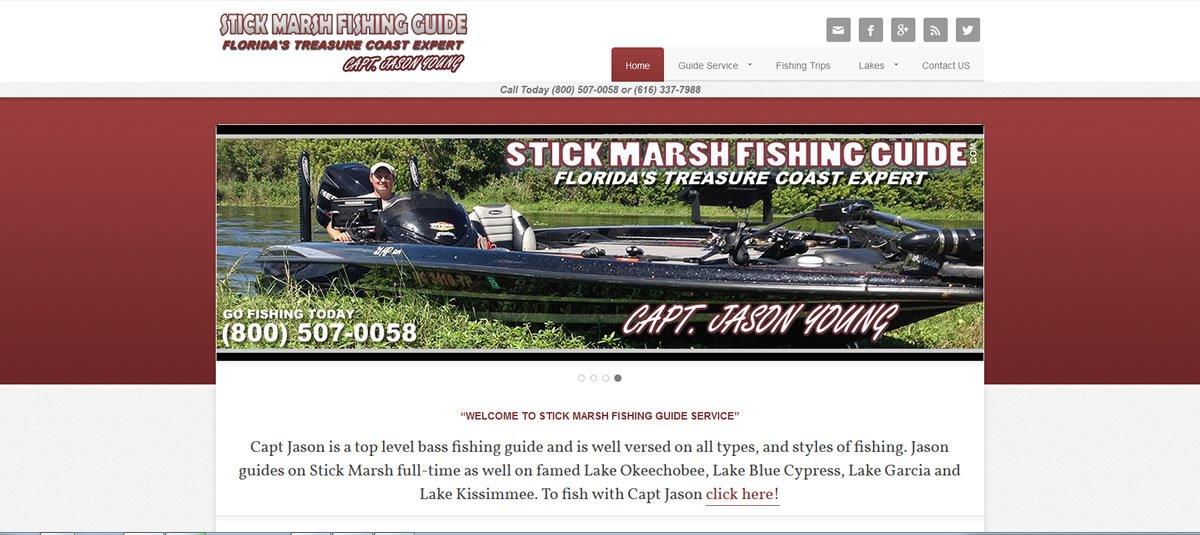 Stick Marsh Fishing Guide
