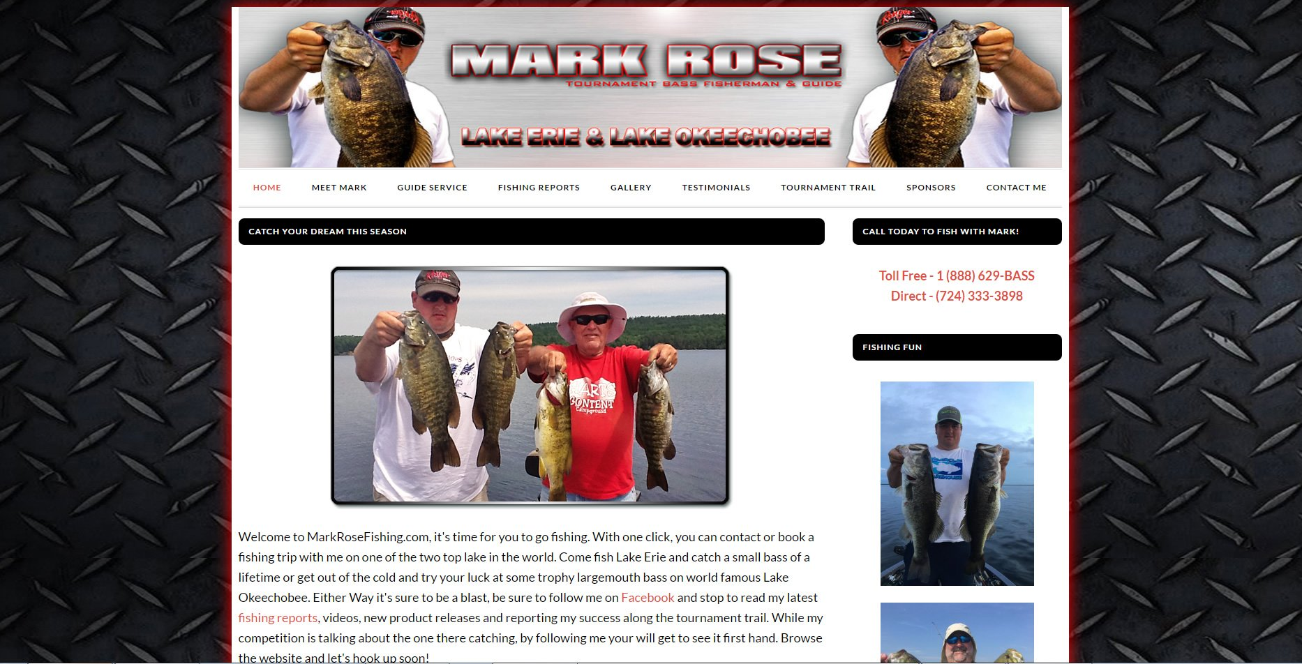 Mark Rose Fishing