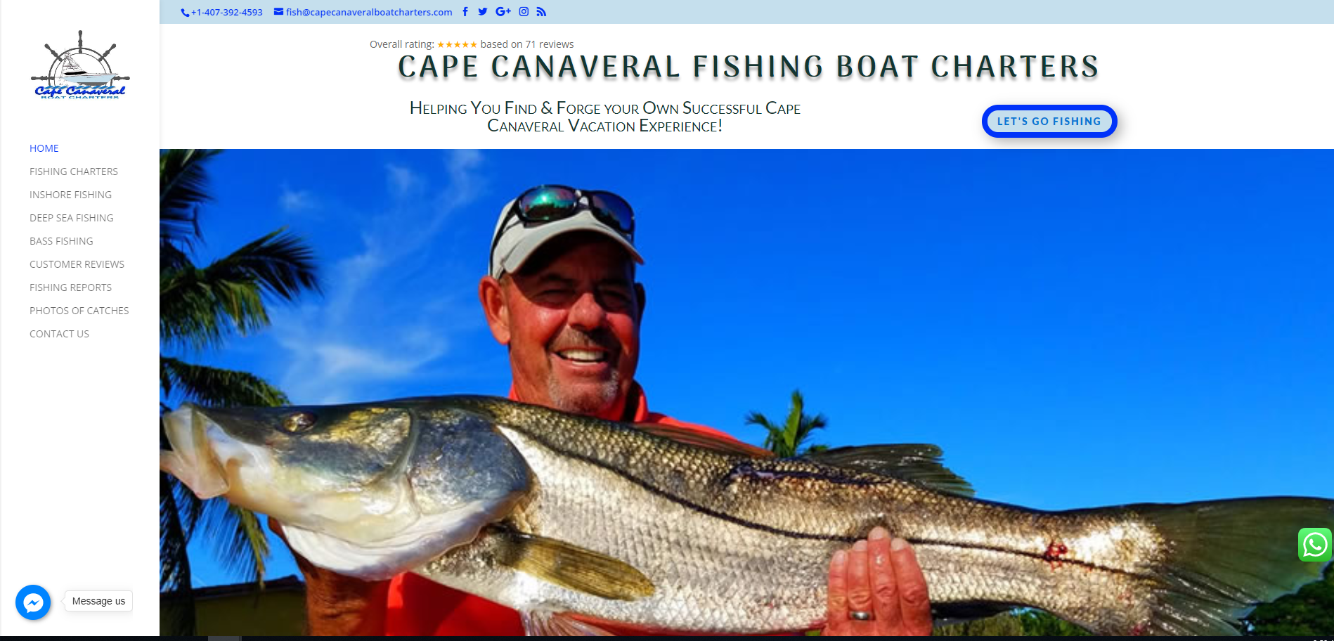 Cape Canaveral Boat Charters