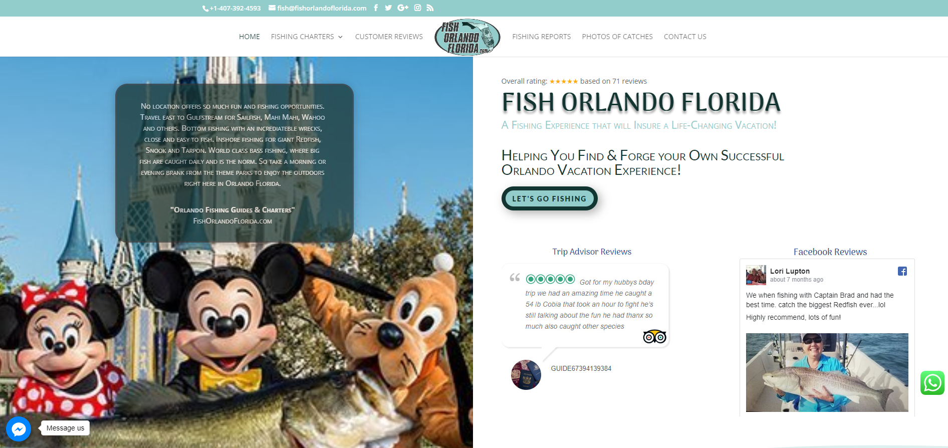 Fish Orlando Florida